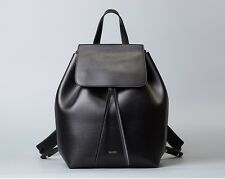 NEW REAL GENUINE LEATHER Medium Women Backpack Bag Shoulder Handbag Purse