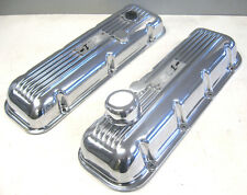 CHEVROLET ZL1 EMBOSSED VALVE COVERS PAIR NEW RARE BIG BLOCK