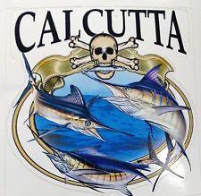 Calcutta Grand Slam Decal for Trucks/Cars/Boats Color Offshore Fish/Skull Design