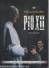 NEW - Pio XII DVD El Papa Que Desafio A Hitler Miniserie De 2 DVDs