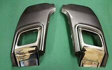 RANGE ROVER EVOQUE DYNAMIC EXHAUST TAIL PIPES BUMPER TRIMS SURROUNDS CHROME NEW