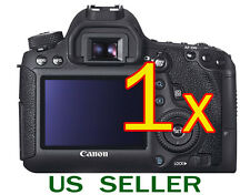 1x Clear LCD Screen Protector Guard Cover Film For Canon EOS 6D DSLR Camera