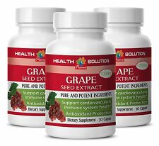 Lose Weight Quick Caps - Grape Seed Extract 90% 150mg - Grapeseed Supplement 3B