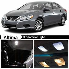 13x White LED Lights Interior Package Kit for 2015-2016 Altima + TOOL