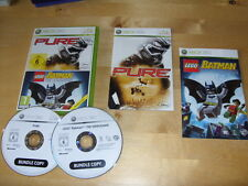 XBOX 360 GAME  LEGO BATMAN The Video Game  & PURE    *FREE UK P&P*