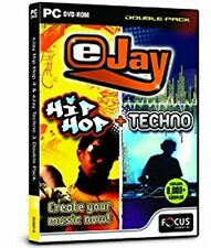 eJay Hip Hop & Techno Double Pack (PC)  New/sealed