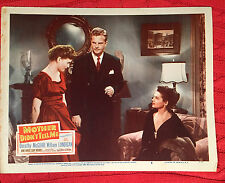 Mother Didn't Tell Me 1950 20th century Fox lobby card Dorothy McGuire