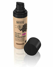 Lavera tendenza naturale Liquid Foundation-Almond Ambra - 30ml organica / Vegan