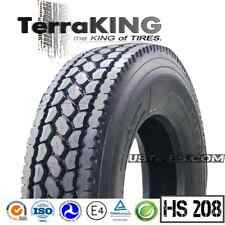TerraKING HS208 - 295/75R22.5 / 16 PLY PREMIUM DRIVE / REAR / SEMI TRUCK TIRES