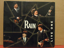 Rain - Live One CD VG condition Rare THE Ultimate BEATLES Tribute Band