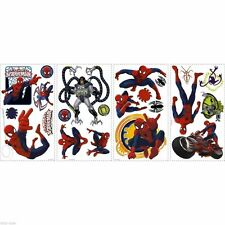 22 Ultimate Spiderman Genuine Wall Decals -Removable Vinyl Stickers / Appliques