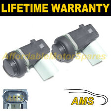 2X NEW FOR PORSCHE CAYENNE CAYMAN BOXSTER GREY PDC PARKING SENSOR 2PS1805S