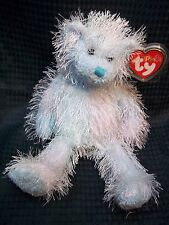"TY PUNKIES 9"" Blue / Lilac Teddy Bear ** TWIZZLES ** NWT"