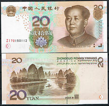 CHINA - BILLETE 20 YUAN 2005 Pick 905   SC  UNC