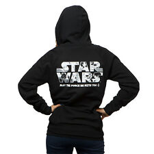 Star Wars Anime the Force Be With You Hoodie - STAR WARS HOODIE - SM or MED