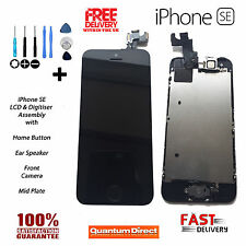 Complete Assembly iPhone SE Retina LCD & Digitiser Touch Screen with Parts BLACK