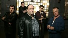POSTER I SOPRANO THE SOPRANOS TONY JAMES GANDOLFINI MAFIA SERIE TV SERIES FOTO 1