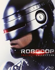 RoboCop 1 2 3 Trilogy Collection [Blu-ray Box Set, Region A, 3-Disc] NEW