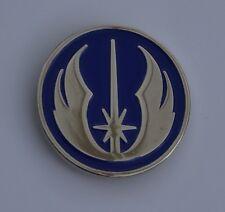 Star Wars Blue and Silver Jedi Order Emblem Quality Enamel Pin Badge