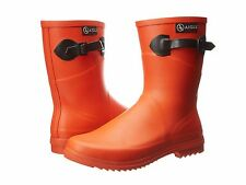 Aigle Womens Chanteboot Pop Rainboots NEW Size 39 US 8.5-9 Goyave Orange $189