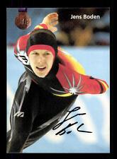 Jens Boden Autogrammkarte Original Signiert Eisschnellauf +A 124312