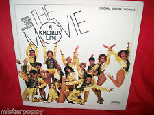 A CHORUS LINE THE MOVIE  OST LP 1985 ITALY EX+
