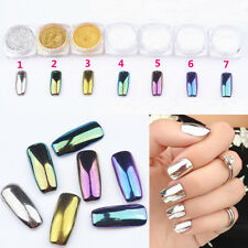 7x Mix Mirror Chrome Effect for Nails Shining Magic nails pigment glitter powder
