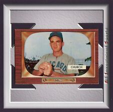 "1955 Bowman EMORY ""BUBBA"" CHURCH #273 NM-MT+ *awesome card for your set* M40C"