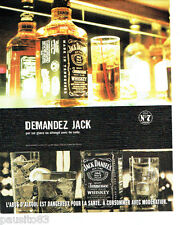 PUBLICITE ADVERTISING 096  2005   Jack Daniel's  whiskey tennessee