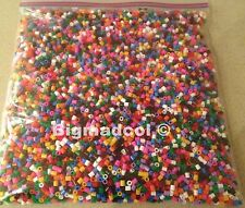 Pyssla Hama Pearler Beads 1kg  bag of assorted colours Brand New