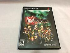 Romancing SaGa (Sony PlayStation 2 PS2, 2005) Complete CIB - Tested Clean