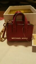 Michael Kors red purse keychain nwt