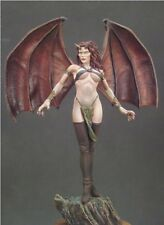 ANDREA MINIATURES 3D GIRLS G-035 - HARPY - 80mm WHITE METAL