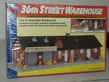 Life Like HO scale 1344 36th St. Warehouse Kit