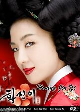 Hwang Jin Yi Korean Drama (5DVDs) Excellent English & Quality - Box Set!