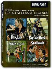 Captain Blood, Sea Hawk, Adventure of Robin Hood, Adventures of Don Juan DVD New