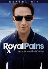 Royal Pains: Complete Sixth Season 6 (DVD, 2015, 3-Disc Set)
