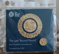 "2016 Royal Nuovo di zecca ULTIMO ROUND £ 1 Pound Coin Pack ""FIOR DI CONIO"""