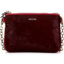 "Fossil Damen Tasche/Crossbodytasche  Clutch ""Memoir HC Top Zip Cranberry""  *NEU*"