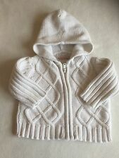 Baby Girls Clothes 3-6 Months - Cute Knitted  Jacket - We Combine Postage
