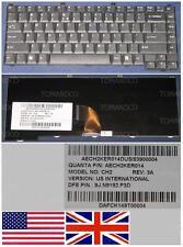 Clavier Qwerty US Int Packard Bell EasyNote GN25 CH2 9J.N8182.P3D AECH2KER014