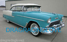 1955 Chevy BelAir Classic American Car 8x10 GLOSSY PHOTO!
