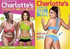 Charlotte CROSBY's Geordie Belly & BUM BLITZ FAT Peso Allenamento UK regione 2 DVD