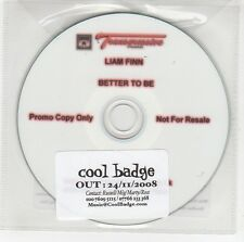 (GG739) Liam Finn, Better To Be - 2008 DJ CD