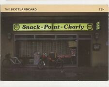 Snack Point Charly Scotland 1997 Postcard 455a