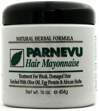 PARNEVU HAIR MAYONNAISE WEAK DAMAGED HAIR TREATMENT OLIVE OIL EGG PROTEIN 16 OZ
