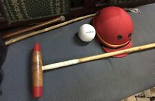 Polo stick, coton sergé polo casque, ball set