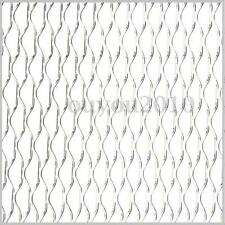 """40""""x13"""" Universal Aluminium Car Vehicle Vent Grille Net Mesh Section Silver New"""