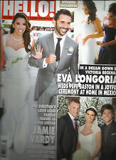 HELLO !MAGAZINE  JUNE, 06th  2016  NO. 1433 (  WEDDING EXCLUSIVE ) PRINTED IN UK