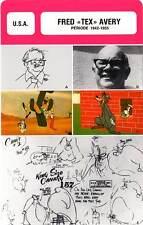 FICHE CINEMA :  FRED TEX AVERY 1942-1955 -  USA (Biographie/Filmographie)